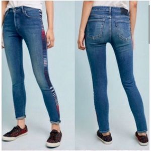 Anthropologie x Levi's made & crafted 721 jeans